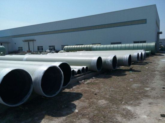 Fibreglass Reinforced Plastic Conduit FRP GRP Pipe Tube pictures & photos