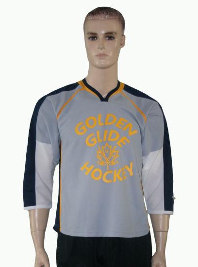 Healong New Design Cut and Sew Ice Hockey Jersey