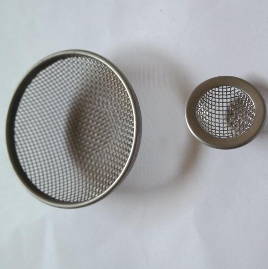 304 6mm 8mm 30 Mesh Stainless Steel Dome Mesh Filter Caps