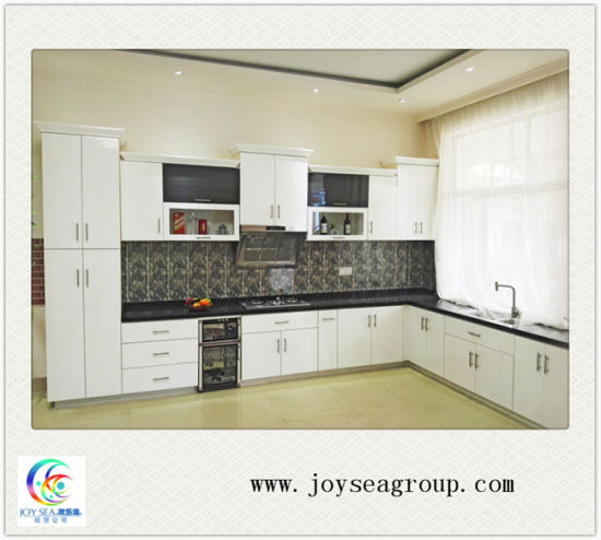 china affordable price factory direct solid wood kitchen cabinet