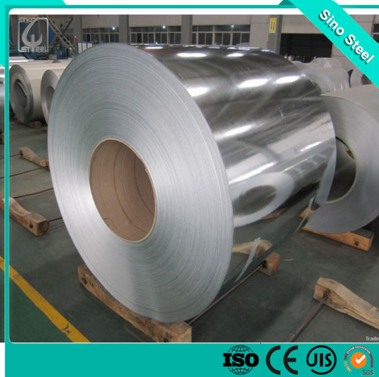 0.12*750mm Dx51d SGCC Gi Coated Steel Coil for Building Material Roofing Sheet
