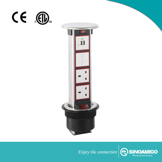 Ip54 Rated Counter Outlet With Bs Socket