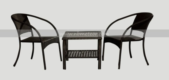 Garden Furniture Wicker Bistro Set Patio Stackable Chair (MTC-147) pictures & photos