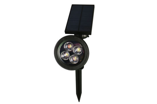Solar Deck Light Ground Lamp Outdoor Light with Two Fixing Way pictures & photos