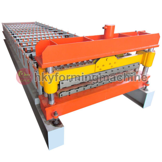 Corrugated Galvanized Sheet Roof Panel Roll Forming Machine