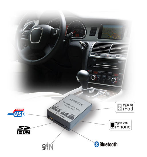 USB SD Aux MP3-Radio Adapter for Citroen (CMI-RD4)