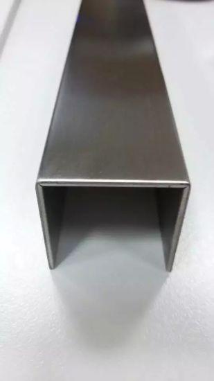 Stainless Steel U Shaped Groove Edge, Door Edging Strip, Backdrop Rose  Moldings
