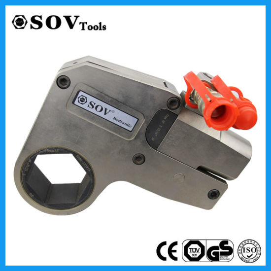 Nickel Plated Steel Hexagon Cassette Hollow Hydraulic Torque Wrench (SV41LB) pictures & photos