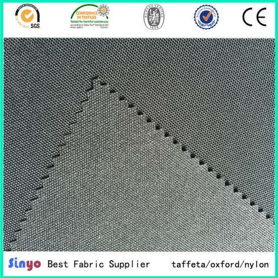 Cheap PU Coated Polyester Waterproof Oxford Fabric for Bag and Tent pictures & photos