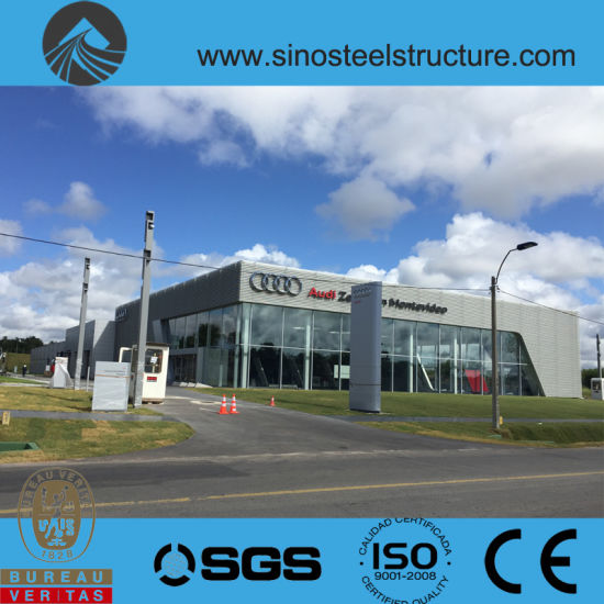 Ce BV ISO Certificated Steel Construction Showroom (TRD-053) pictures & photos