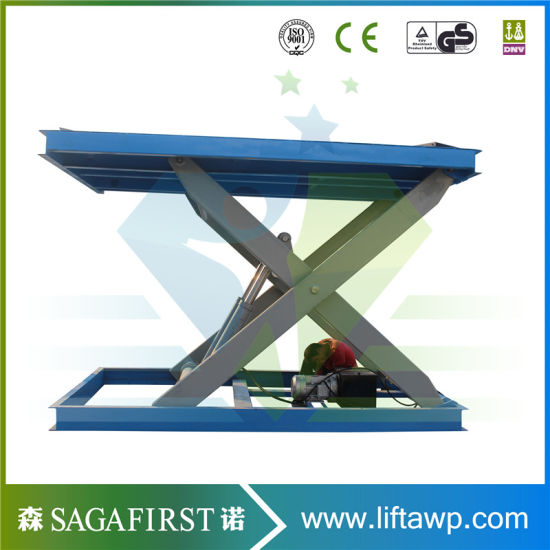 1ton Stationary Hydraulic Lifting Table pictures & photos
