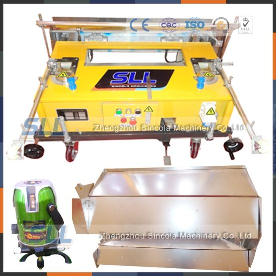 Brazil Electric Trowel for Plastering Wall Rendering Machine Imported From China pictures & photos