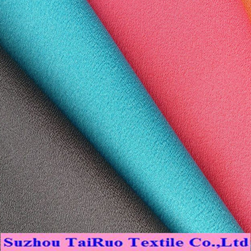 100% Polyester Soft Peach Skin Microfiber Fabric for Garments