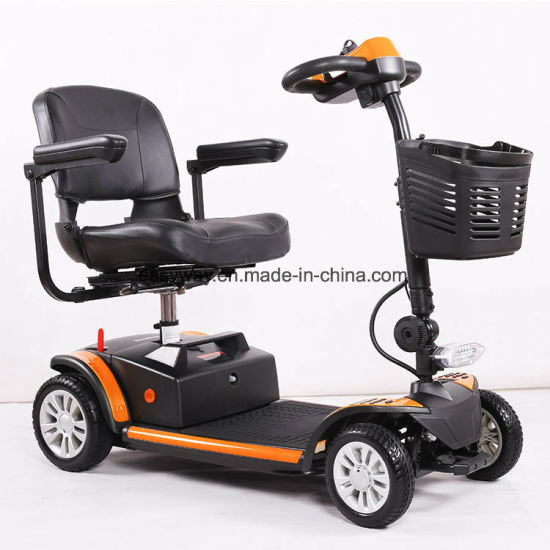 4-Wheel Smart Electric Mobility Scooter with 2018 New Design pictures & photos