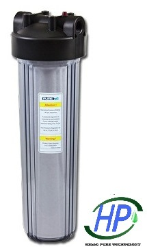 """20"""" Jumbo Clear Filter Housing for RO Water Purifier"""