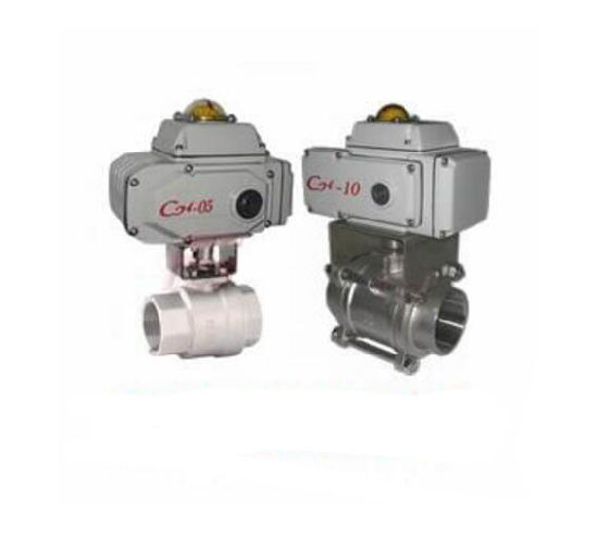 Q911f Electric Internal Thread Ball Valve pictures & photos