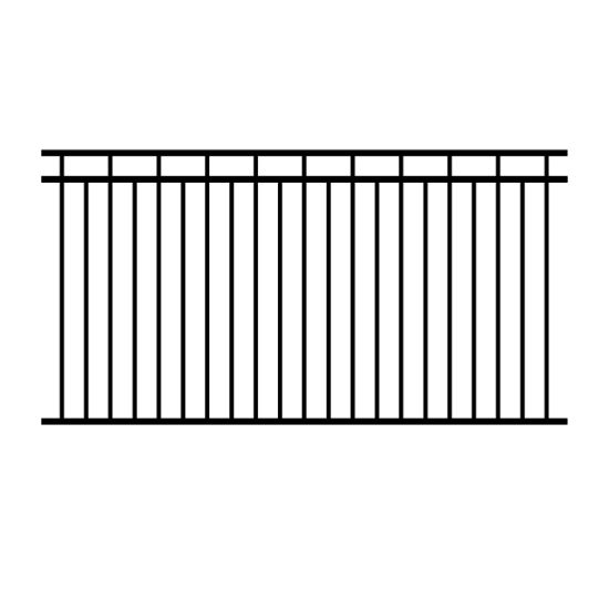Wholesale Gate and Steel Fence Design / Waterproof PVC Coated Wall Boundary Steel Grills Fence Design