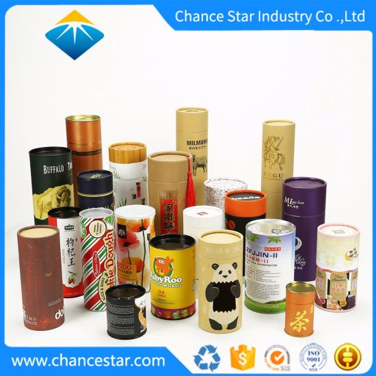 Custom Color Printed Laminated Paper Cardboard Roll Core Tubes pictures & photos