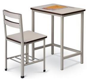 Middle School Classroom Single Set Desk and Chair