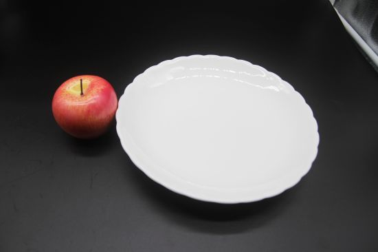 "Ceramic Dishes for Hotel Restauran10 ""Chrysanthemum Disc"" pictures & photos"