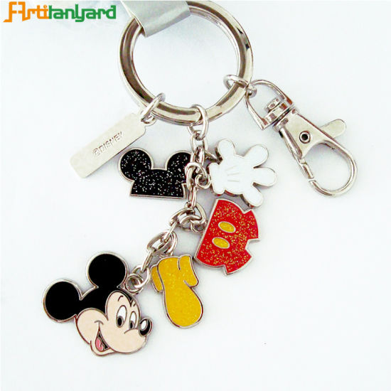 Promotional Customer Logo Metal Key Chain pictures & photos