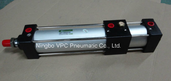 Sda Series Aluminum Alloy Triple Force Airtac Pneumatic Cylinder pictures & photos