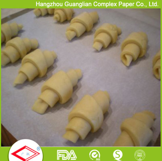 FDA/SGS Certified Unbleached Brown Parchment Paper in Rolls pictures & photos