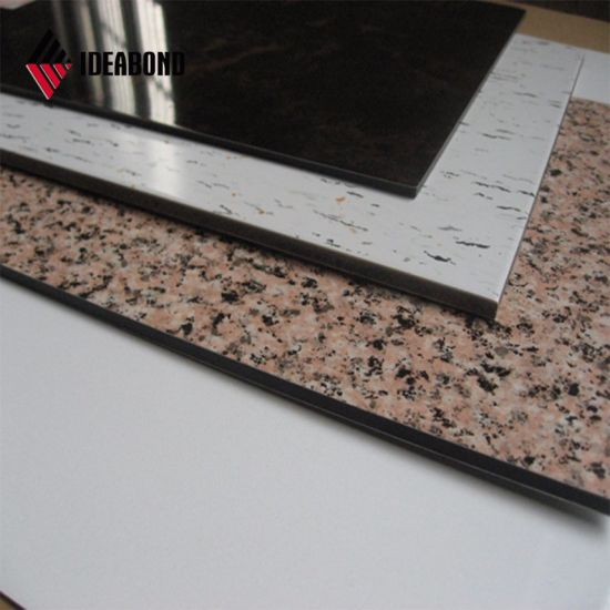 4mm Stone Texture Aluminum Composite Panel ACP pictures & photos