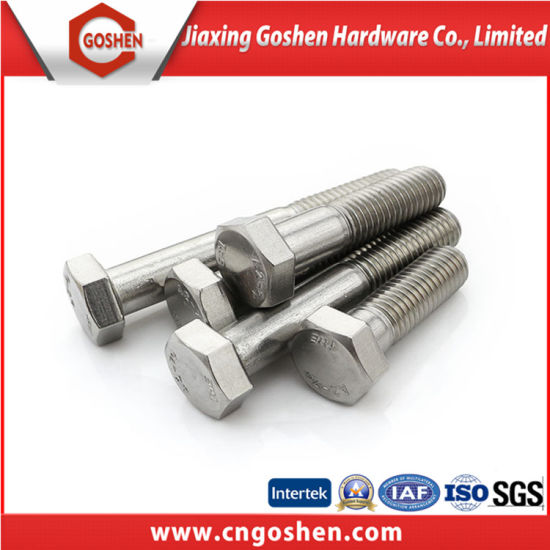 Carbon Steel Hex Bolt Grade 8.8 DIN931/DIN931 Hex Cap Bolt pictures & photos