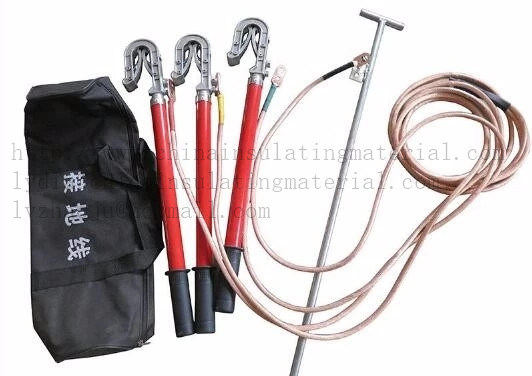 Portable Ground Earth Rod/Earth Wire Set and Clamp pictures & photos