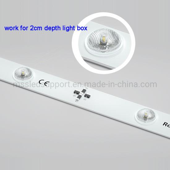 2cm Depth Light Box LED Strip Light Bar SMD2835 3030 LED Lattice Diffuse LED Light Strip
