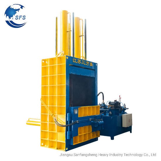 Y82-25 Hydraulic Vertical Paper/Cardboard/Plastic Press Baler