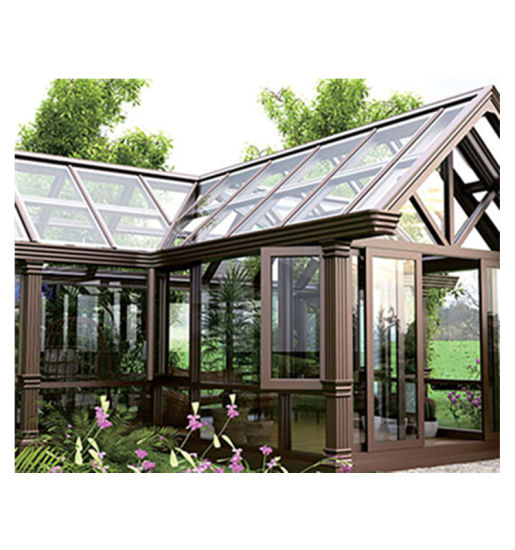 Outdoor Aluminum Green House Easy Assembly Sunroom