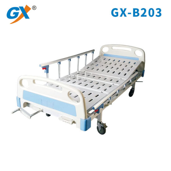 Medical Equipment Manual Two Function Hospital Bed