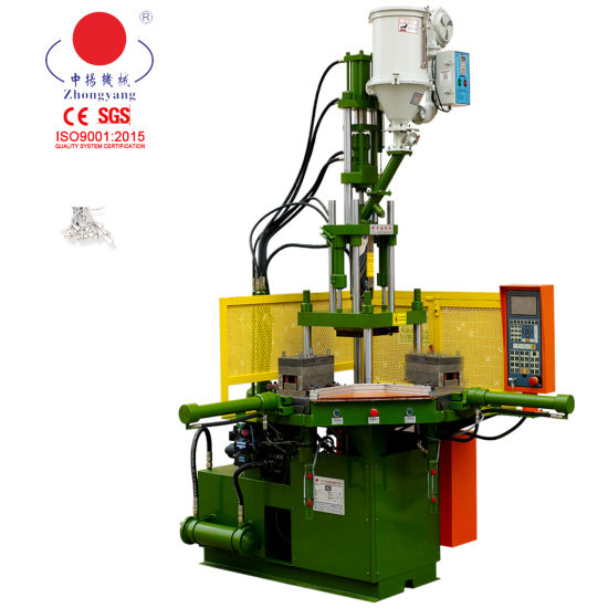 Vertical Right Angle Electrical Appliance 35tons Injection Molding Machine