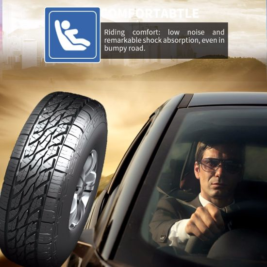 All Season Semi Radial Passenger Car Tire PCR SUV with Global Certificate