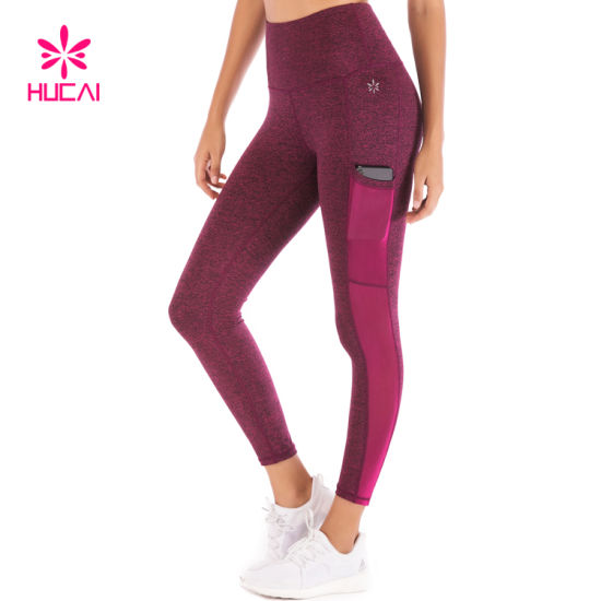High Waist Fitness Wear Stretch Women Sport Leggings