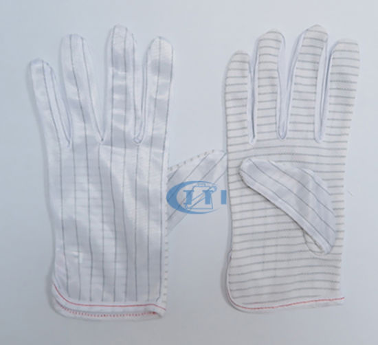 Anti Static Gloves (PVC DOT antistatic palm) Working Gloves
