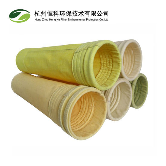 Nonwoven Needle Felt PPS Dust Filter Bag for Cement pictures & photos