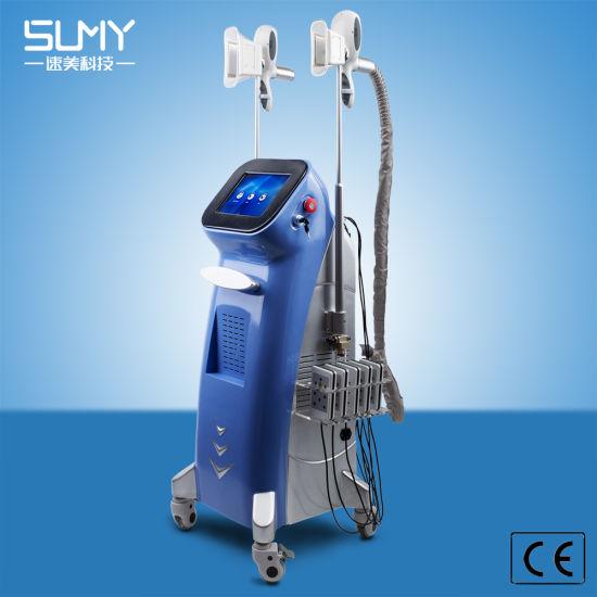 400W Output Power New Item Blue Laser Cryolipolysis Cavitation Lipo RF Slimming Machine Skin Tightening Equipment