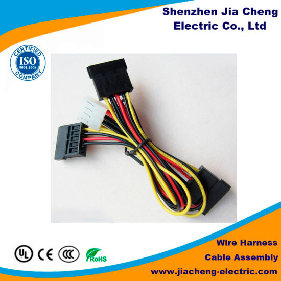 China Soft PVC Insulation Covers for Wiring Harness Automobile Using -  China Electrical Wire Harness, Wire Harness EquipmentShenzhen Jia Cheng Electric Co., Ltd.
