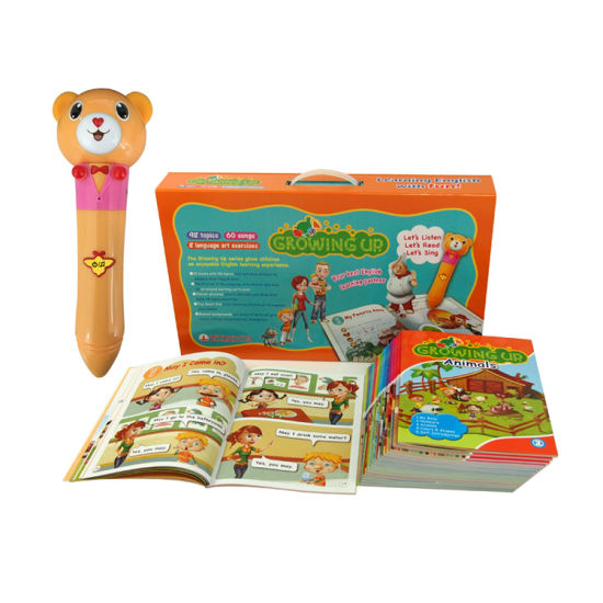 Growing up Children Audio Books Educational Children′s Talking Pen Talking Pen pictures & photos