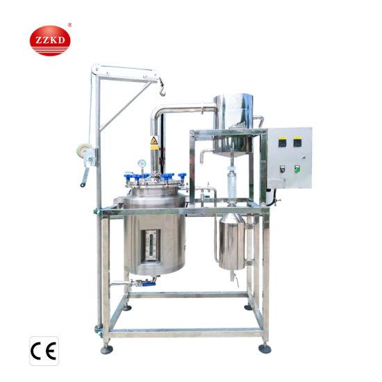 Stainless Steel Rosemary Essential Oil Distillation Machine Plant Essential Oil Distiller Lavander Oil