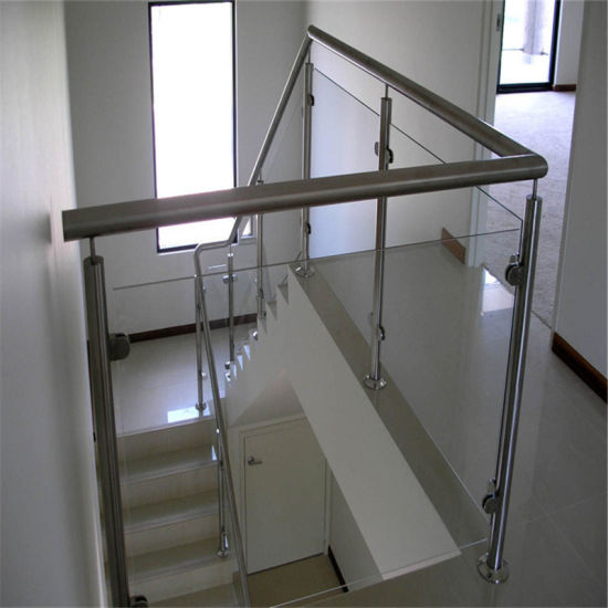 China Glass Balustrade Fixings Stair Post Indoor Stair Railing