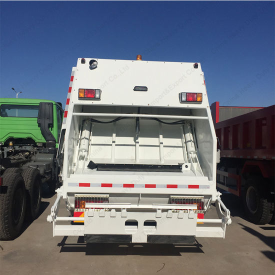 HOWO Compressor Truck 16cbm Capacity Rubbish Garbage Trucks pictures & photos