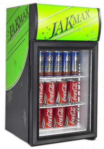 ETL/RoHS/Ce Approved Commercial Glass Door Kitchen Hotel Counter Table Top Minibar Beer Beverage Soft Drink Fridge Refrigerator (JGA-SC42)