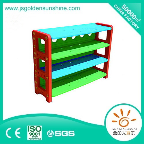 Kid's Plastic Toy Collecting Shelf storage Cabinet with Ce/ISO Certificate