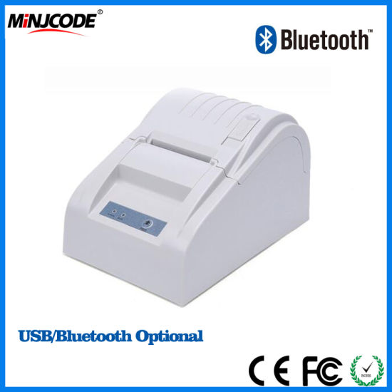 58mm Thermal Printer. USB/Bluetooth Interface Simple and Convenient, Receipt Hot Selling 58mm POS Printer, Receipt Printer 58mm, Desktop Printer Mj5890 pictures & photos