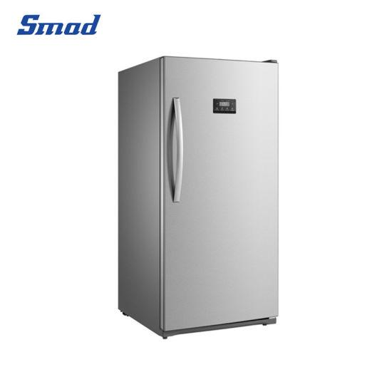 Single Solid Door Portable Vertical Upright Fridge Freezer