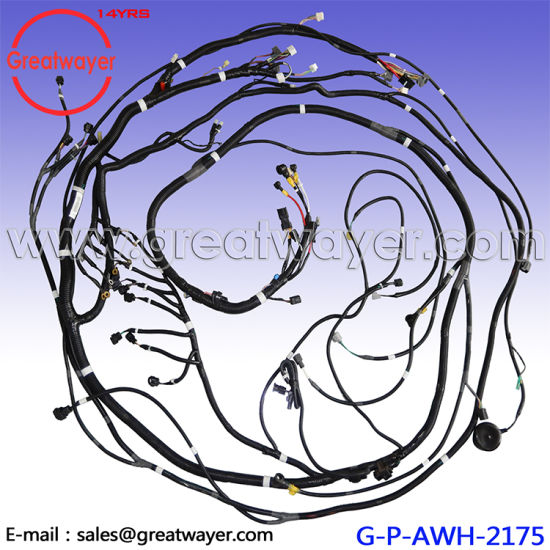 china cabin outside main wire harness lq13e01245p1 excavator kobelco rh greatwayer en made in china com
